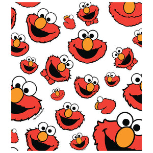 Load image into Gallery viewer, Sesame Street Elmo Face Pattern Kids Mask Design Full View