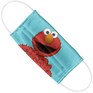 Sesame Street Elmo Painted Adult Flat View