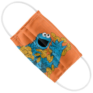 Sesame Street Cookie Monster Painted Kids Flat View