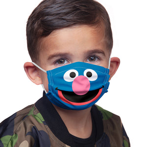 Sesame Street Grover Face Kids Main Model View