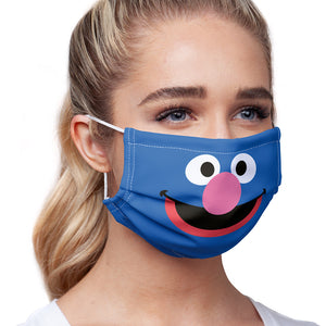 Sesame Street Grover Face Adult Main/Model View