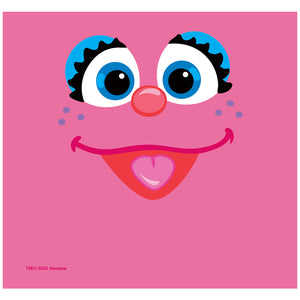 Sesame Street Abby Face Adult Mask Design Full View