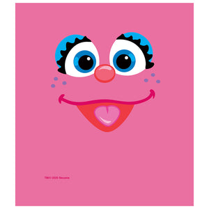Sesame Street Abby Face Kids Mask Design Full View