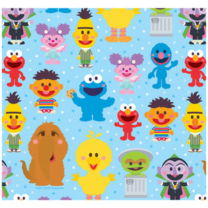 Sesame Street Cute Character Pattern Adult Mask Design Full View