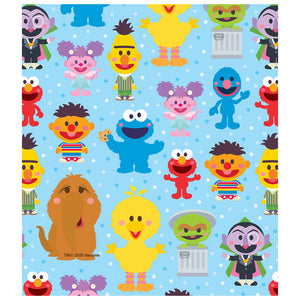 Sesame Street Cute Character Pattern Kids Mask Design Full View
