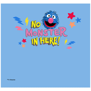 Load image into Gallery viewer, Sesame Street Grover No Monster in Here Adult Mask Design Full View
