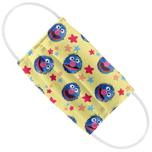 Sesame Street Grover and Stars Pattern Kids Flat View