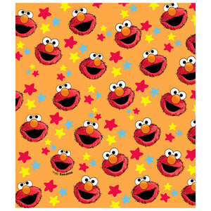 Sesame Street Elmo and Stars Pattern Kids Mask Design Full View