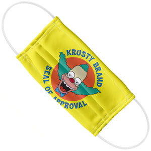 The Simpsons Krusty Brand Seal of Approval Adult Flat View