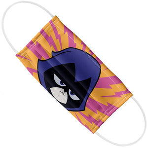 Teen Titans Go! Raven Face Pattern Adult Flat View