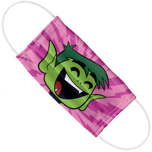 Teen Titans Go! Beast Boy Pattern Adult Flat View