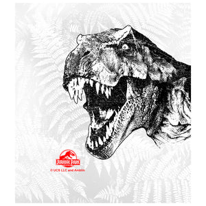 Jurassic Park T-Rex Head Kids Mask Design Full View