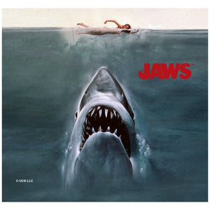 Jaws Poster Adult Mask Design Full View