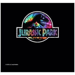 Jurassic Park Prehistoric Groove Adult Mask Design Full View