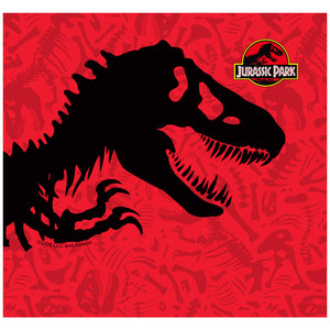 Jurassic Park T-Rex Skull Adult Mask Design Full View