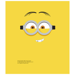 Minions Kevin Face Kids Mask Design Full View