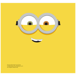 Load image into Gallery viewer, Minions Bob Face Adult Mask Design Full View