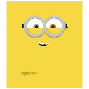 Minions Bob Face Kids Mask Design Full View