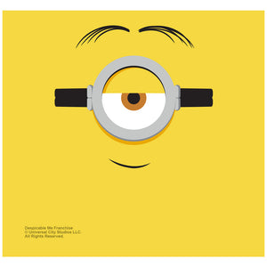 Load image into Gallery viewer, Minions Stuart Face Adult Mask Design Full View
