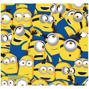 Minions Mass of Minions Adult Mask Design Full View