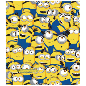 Minions Mass of Minions Kids Mask Design Full View