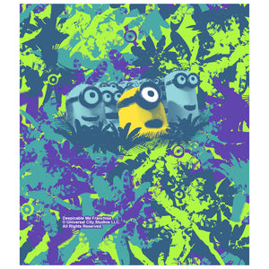 Minions Tropical Kids Mask Design Full View