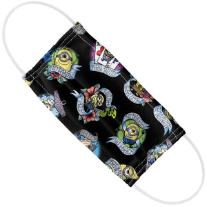 Minions Tattoo Pattern Adult Flat View