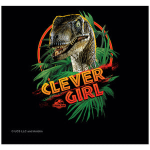 Jurassic Park Clever Girl Adult Mask Design Full View