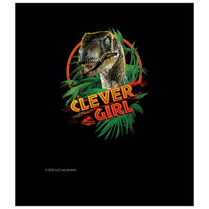 Jurassic Park Clever Girl Kids Mask Design Full View