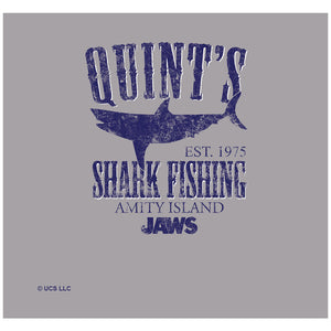 Jaws Quints Adult Mask Design Full View