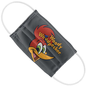 Woody Woodpecker Retro Logo Kids Flat View
