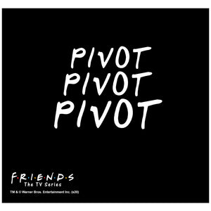 Friends Pivot Pivot Pivot Adult Mask Design Full View