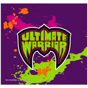 WWE Ultimate Warrior Logo Adult Mask Design Full View