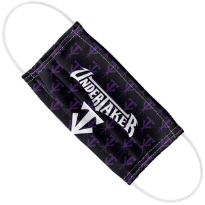 WWE Undertaker Logo Adult Flat View