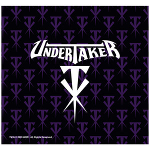 Load image into Gallery viewer, WWE Undertaker Logo Adult Mask Design Full View