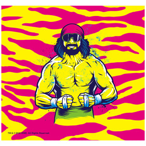 WWE Macho Man Cream of the Crop Adult Mask Design Full View