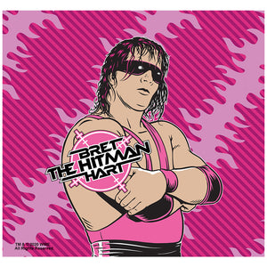 WWE Hitman Bret Hart Adult Mask Design Full View