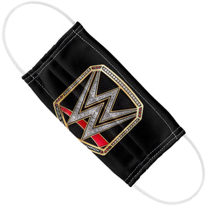 WWE World Heavyweight Champion Title Adult Flat View