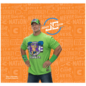 WWE John Cena Respect Adult Mask Design Full View