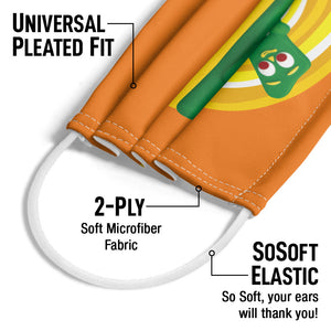 Gumby Thats a Stretch Adult Universal Pleated Fit, 2-Ply, SoSoft Elastic Earloops