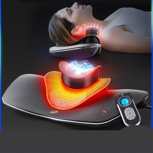 Neck Stretch & Neck Massage, Multi-functional Cervical Traction and Neck Muscle Device, Neck and Shoulder Pain - Arganna Skin