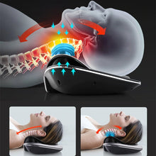 Load image into Gallery viewer, Neck Stretch & Neck Massage, Multi-functional Cervical Traction and Neck Muscle Device, Neck and Shoulder Pain - Arganna Skin