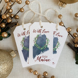 With Love from Maine Gift Tags by Gert & Co