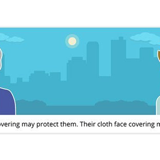 About Cloth Face Coverings from the CDC
