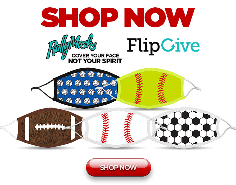 Shop Now FlipGive and Rally-Masks.com