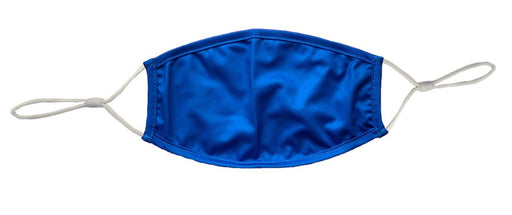 Blue Cloth Face Cover with Adjustable Ear Straps Cloth Face Cover BEND Active