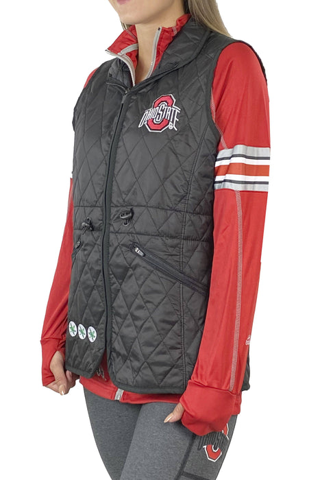 Buckeye Woman's Quilted Vest