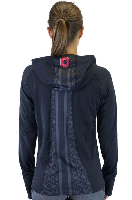 NEW RELEASE - Vision 2020 Ponytail Performance Hoodie - Ohio State Sweatshirt BEND Active