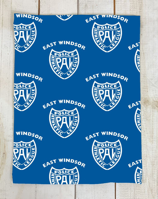 PRE SALE: GAITER - East Windsor Police Athletic League (Blue) Cloth Face Cover BEND Active