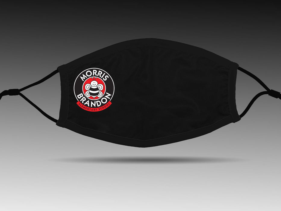 PRE-SALE: Morris Brandon Elementary School (Black) Cloth Face Cover BEND Active